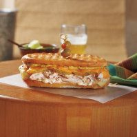 Roast Turkey Cuban Press Sandwich by @mytexaslife