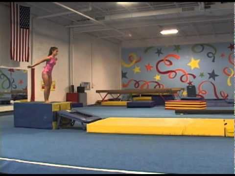 Mini Tramp or Tumble Track Drill for Bounders - YouTube