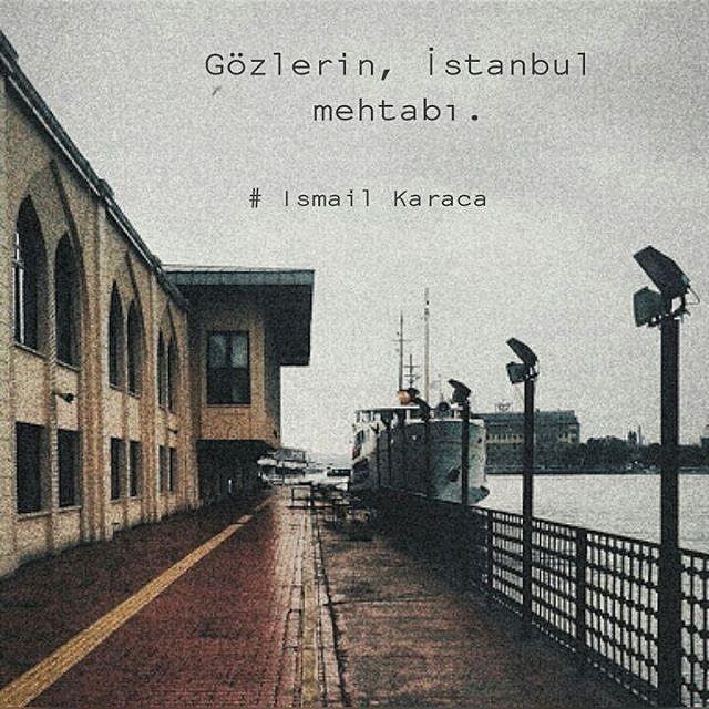 Gözlerin, İstanbul mehtabı. - İsmail Karaca (Kaynak: Instagram - ismailkaracaa_) #sözler #anlamlısözler #güzelsözler #manalısözler #özlüsözler #alıntı #alıntılar #alıntıdır #alıntısözler #şiir #edebiyat