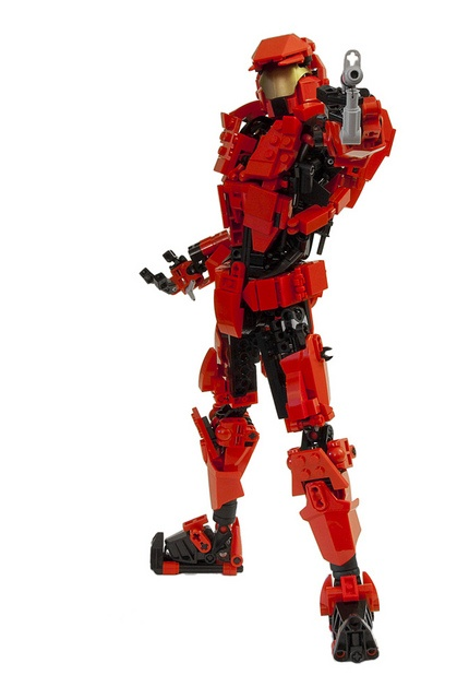 25 best ideas about lego halo on pinterest - Lego spartan halo ...