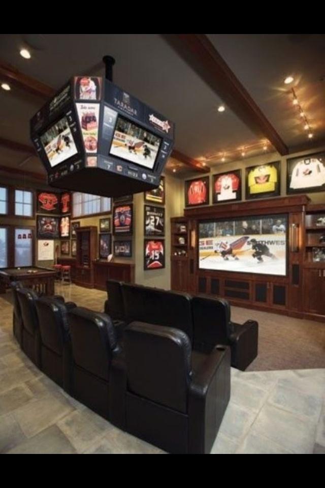 Baseball Man Cave Furniture : Best rec rooms basements images on pinterest
