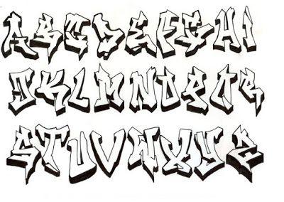 graffiti buchstaben graffiti schrift | graffiti buchstaben, graffiti schrift, alphabet buchstaben