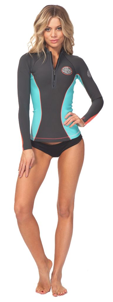 1mm Women's Rip Curl G-BOMB Wetsuit Jacket | Wetsuit Wearhouse