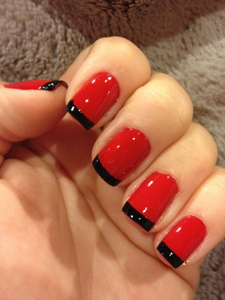 Marine Corp Birthday Nails wish I would have done this for the ball ...