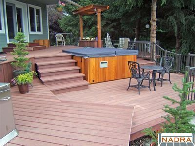 Spa/Pools - Hot Tub & Multiple Deck Levels - NADRA Gallery of Deck ...