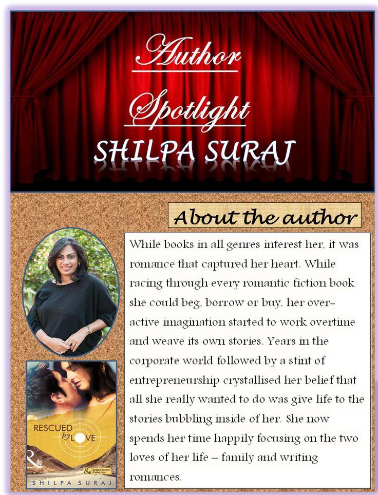 Author Interview: Shilpa Suraj