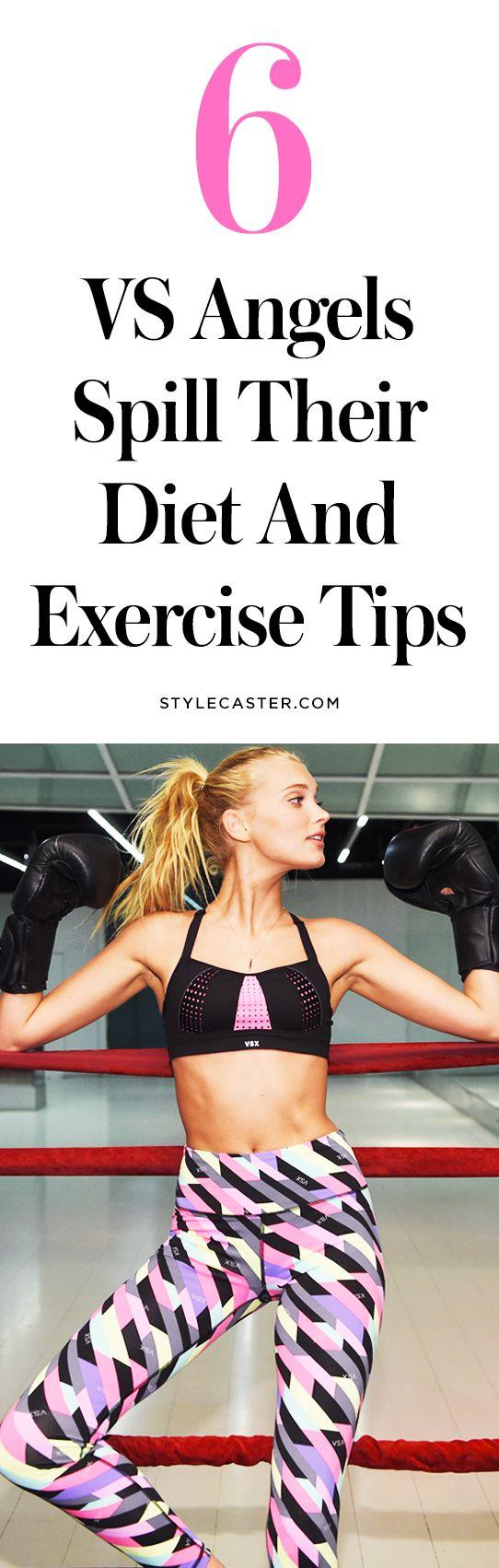 6 Victoria's Secret Angels reveal their diet + exercise secrets!   Fitness tips from supermodels Elsa Hosk, Martha Hunt, Jessica Heart, Erin Featherton, Jourdan Dunn, and Adrianna Lima...