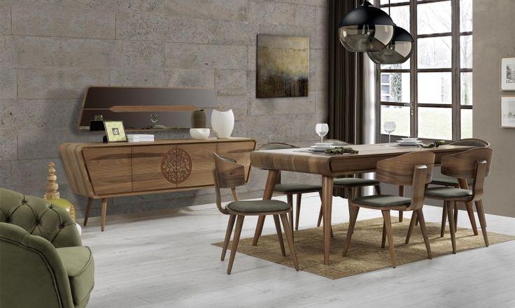 Gazella Yemek Odası Takımı Tarz Mobilya | Evinizin Yeni Tarzı '' O '' www.tarzmobilya.com ☎ 0216 443 0 445 📱Whatsapp:+90 532 722 47 57 #yemekodası #yemekodasi #tarz #tarzmobilya #mobilya #mobilyatarz #furniture #interior #home #ev #dekorasyon #şık #işlevsel #sağlam #tasarım #konforlu #livingroom #salon #dizayn #modern #rahat #konsol #follow #interior #armchair #klasik #modern