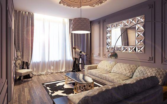 Гостиная Арт деко - Галерея 3ddd.ru: