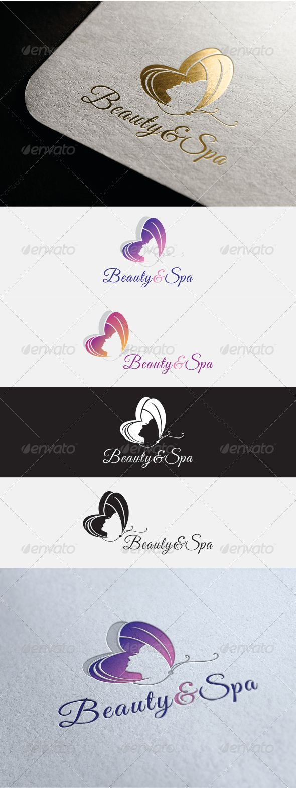 Beauty & Spa - Logo Design Template Vector #logotype Download it here: http://graphicriver.net/item/beauty-spa-logo/7542694?s_rank=93?ref=nexion