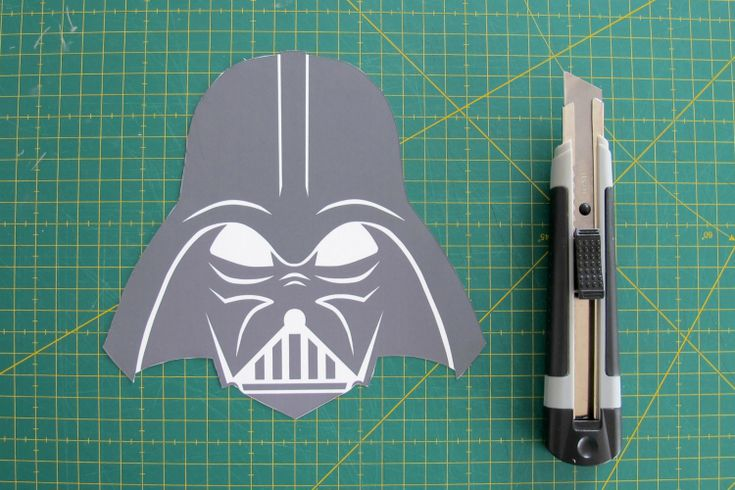 Darth Vader Stencil, free download