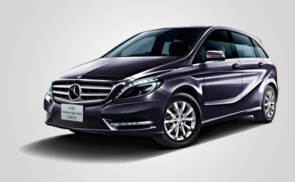 Mercedes-Benz B180 Northern Lights Black Limited is only for Japan