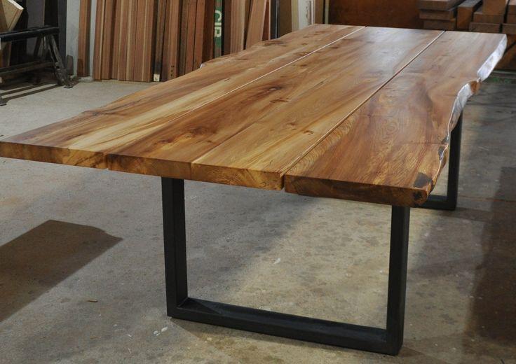 Plankebord i elmetræ