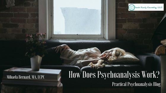 """Someone recently told me that before coming to see me they thought that people laid on the couch when they go to therapy. """"That's psychoanalysis,"""" I replied. """"Some people still do that."""" How does psychoanalysis work exactly?..."""