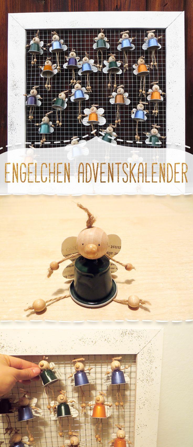 Basteln Mit Kaffeekapseln : Putziger Adventskalender