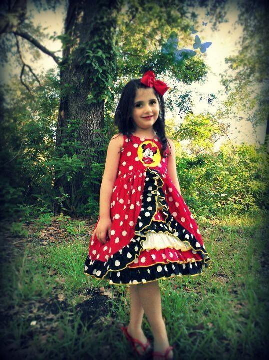 Irelyn's Peek-A-Boo Ruffle Dress Pattern