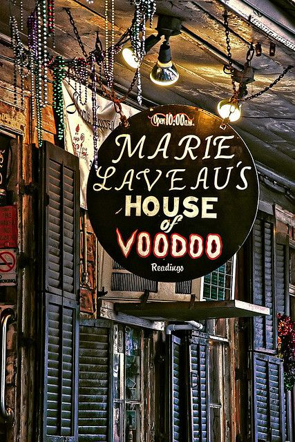 Marie Laveau's House of Voodoo - I love going in here every time I visit New Orleans :)  lucie marchand