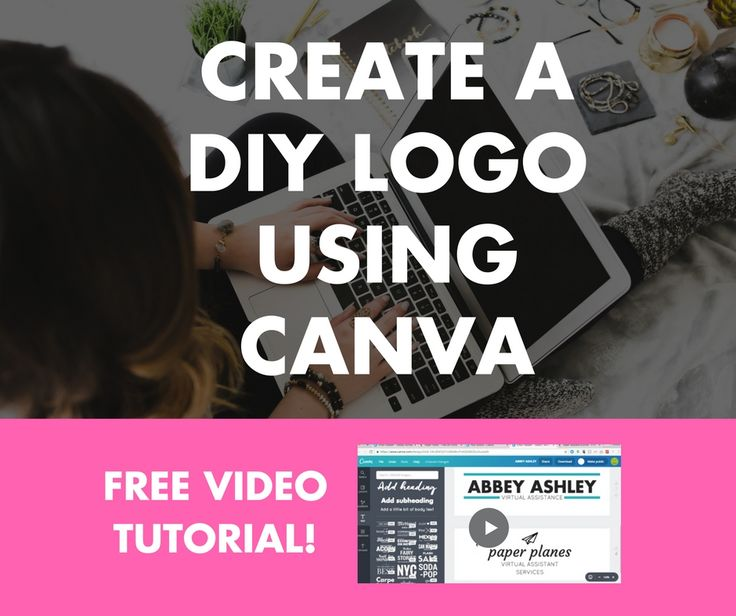 Needing a DIY logo design option for your virtual assistant business? Check out this DIY resource and learn how to make your own logo using Canva!