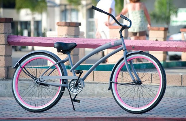 Skullxbones Women S Beach Cruiser Bike