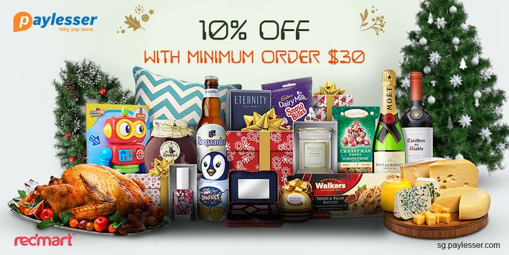 Use this coupon code and get 10% discount with minimum order $30. Grab this coupon before it's gone. Why pay more? #Redmart #Coupon #Paylesser