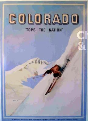 Colorado -- love vintage posters