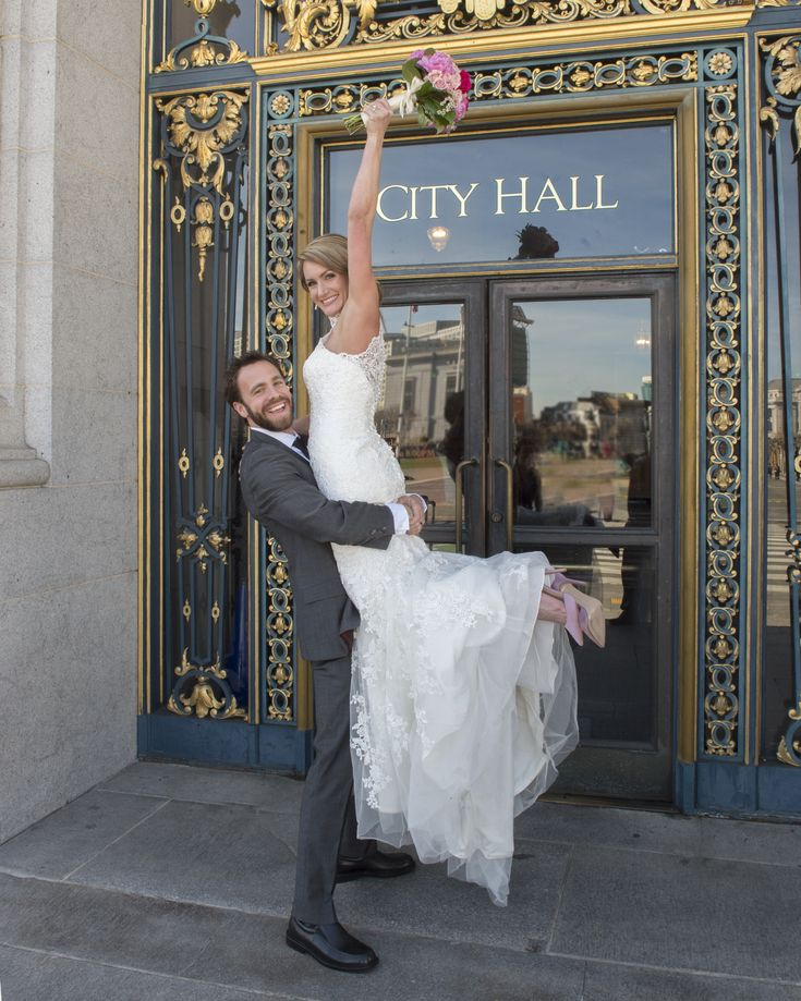 Happy couple shares their excitement during their San Francisco City Hall wedding.  Another forever memory. #sanfranciscocityhallweddingphotographer #weddingphotographer #weddingphotographersanfranciscocityhall #bayareaweddingphotographer #weddingjoy #forevermemory #romanticsanfranciscoweddings #romanticsanfranciscocityhallweddings #Sanfranciscobayareaweddingphotographer #cityhallphotographer  #sfcityhallphotographer  #WeddingPhotographerSFBayArea