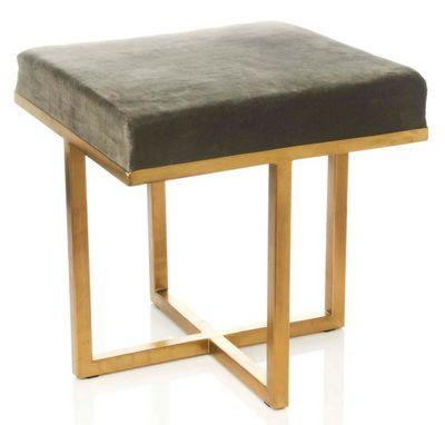 Nate Berkus Upholstered Stool For Hsn Great Combination