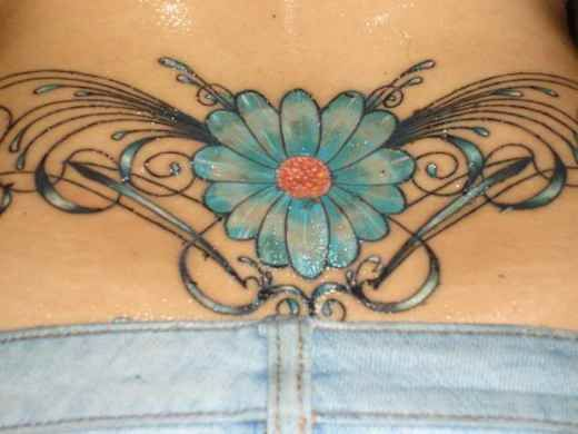 Daisy Vine Tattoos: 160 Best Images About Gallery Of Hot Flower Tattoos On