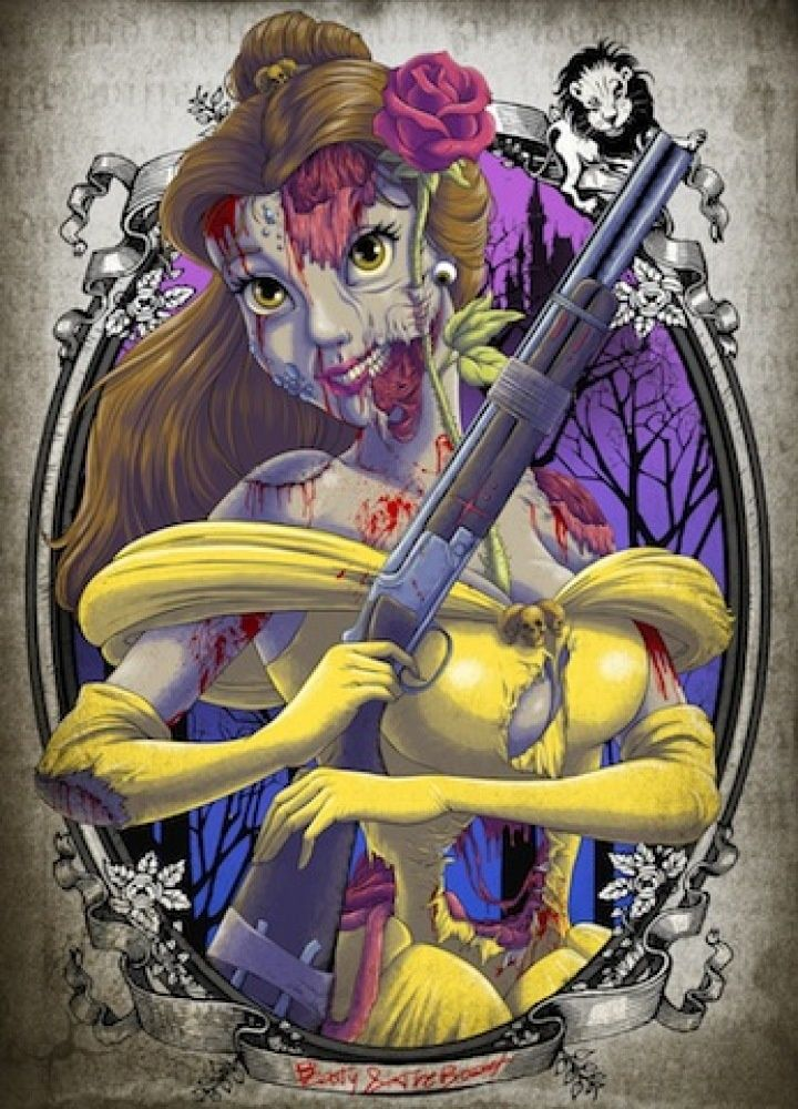 Zombie Disney Characters | Disney Princess Zombies: Disney Characters Like You've ... | Pop Cult ...