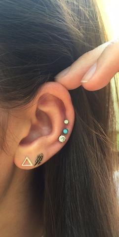 Ear Piercings Ideas at MyBodiArt