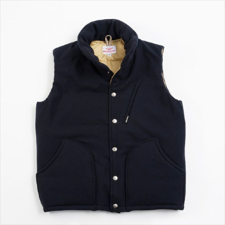 Batten Sportswear FW13 - great simple down vest (thumbs up for the angled breast pocket). Would go great over a sportcoat.