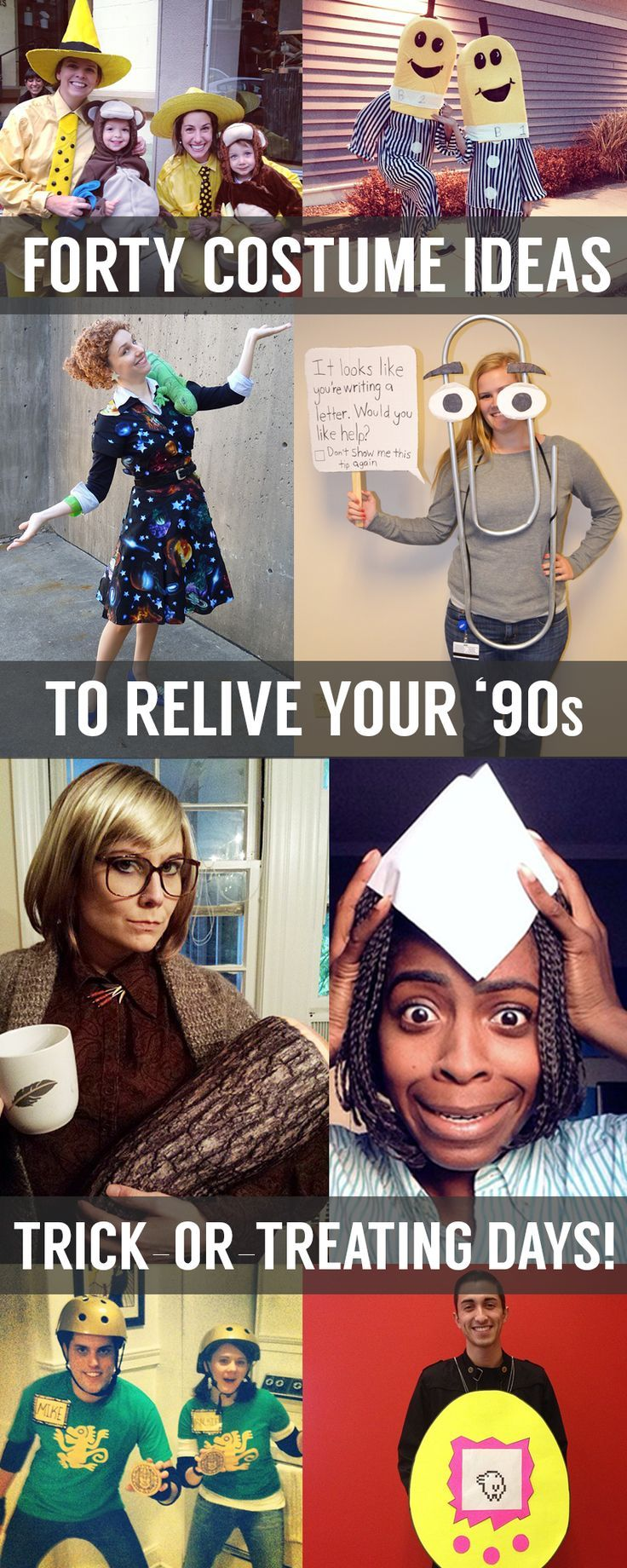 '90s fans, here are Halloween costume ideas just for you!