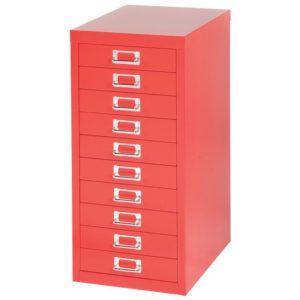 Second Hand Bisley 15 Drawer Filing Cabinet