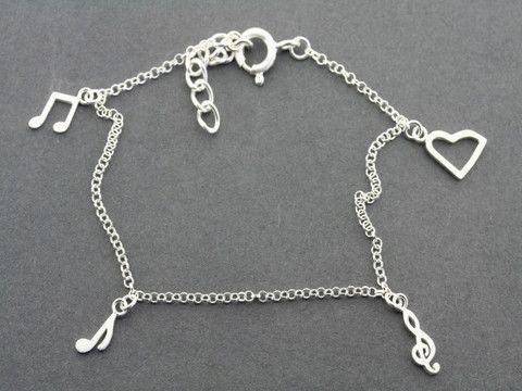 musical note bracelet