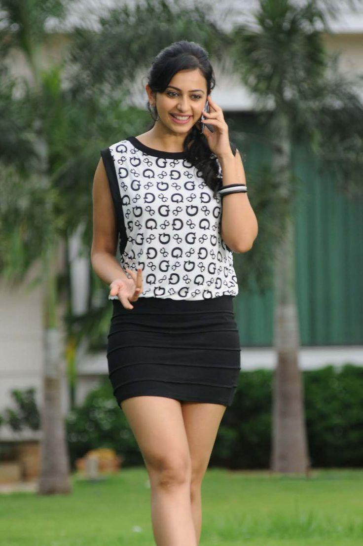 Rakul Preet Singh Very Hot Photos In White Dress
