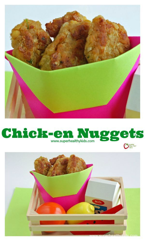 Chick-en Nuggets Recipe - Vegetarian Chick-en Nuggets! The kids love them, and they are so inexpensive and easy to make! http://www.superhealthykids.com/chick-en-nuggets/