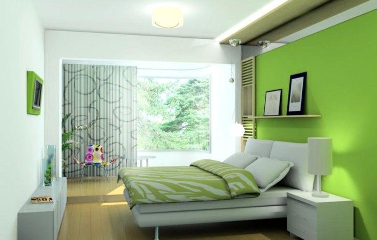 Kamar Tidur hijau