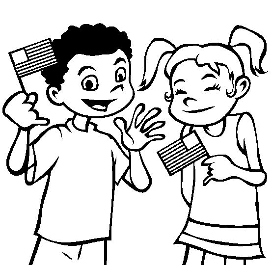 Flag Day 2014 Coloring Sheets For Kids