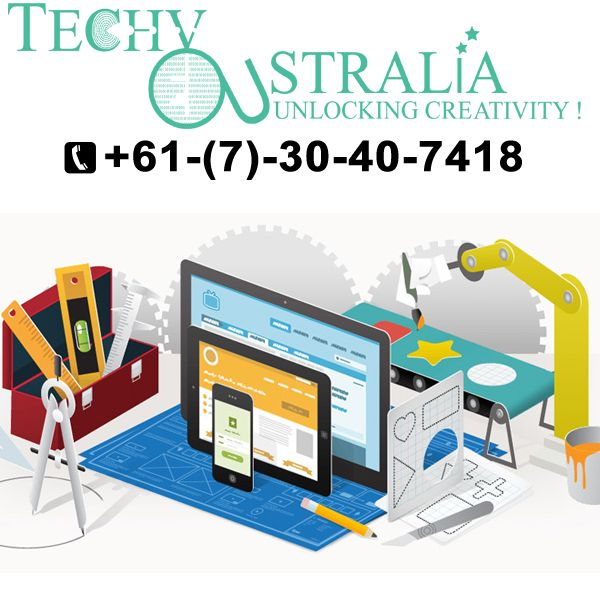 website design Techy Australia +61-(7)-30-40-7418