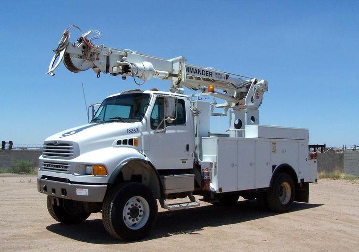 Hd Trucks & Equip Llc - 2005 Sterling Digger Crane For Sale, Pickup Trucks For Sale  .. (602) 510-5444 .... www.HDTrucksAndEquipmentSales.com
