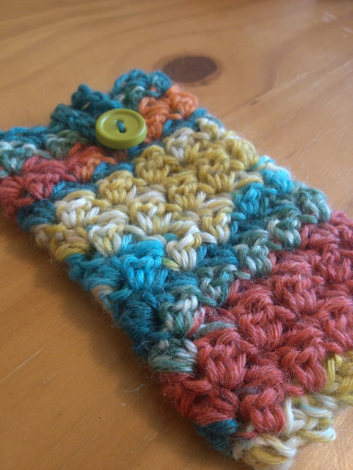 The Hippy Hooker: New Phone Cozy Free Pattern!