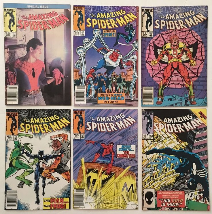 The Amazing Spider-Man 262 263 264 266 267 268 Lot of 6 Marvel Comics 1985 VF-  Lots of #AmazingSpiderMan #comicbooks available to buy online!  #superhero #spiderman #spidermanhomecoming