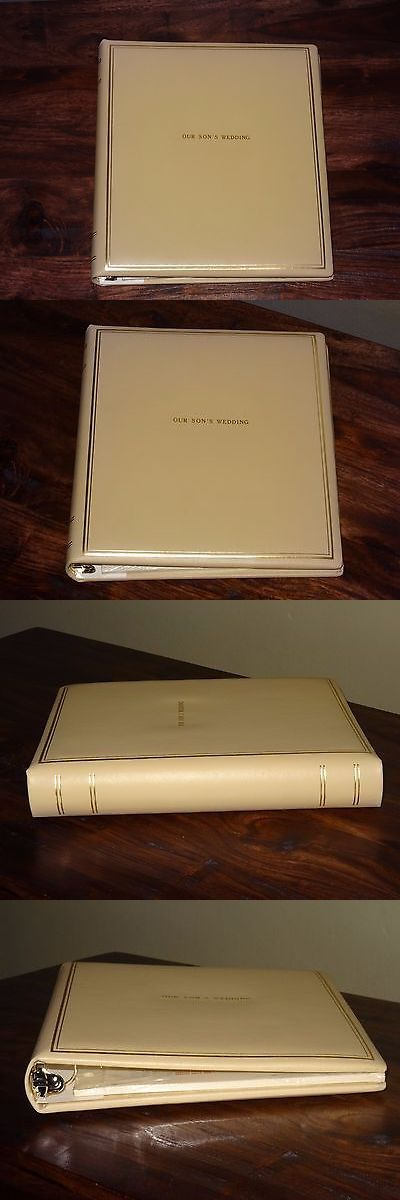 Photo Albums 102473: Our Son S Wedding - Leather Photo Album By Exposures -> BUY IT NOW ONLY: $50 on eBay!