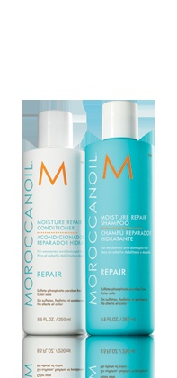 Morrocanoil -shampoo conditioner. LOVE this stuff. Add in the curl lotion, too!!