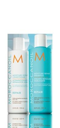Morrocanoil -shampoo conditioner.