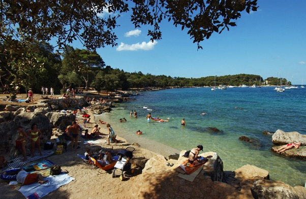 Beach close to hotel Eden in Rovinj!    http://www.maistra.com