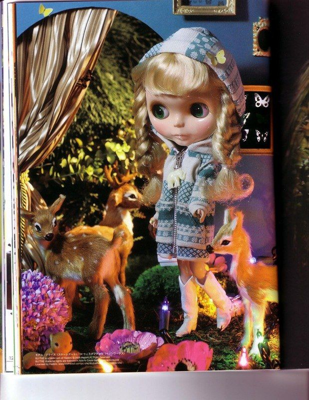 Выкройки из японских журналов. Часть 25 - для куклы Блайз. Часть 5 из 5 / Куклы Блайз, Blythe dolls / Бэйбики. Куклы фото. Одежда для кукол