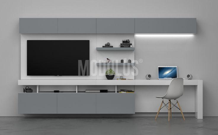 MODULUS Sistema Mural 25 #livingroom #escritorio #diseñoargentino