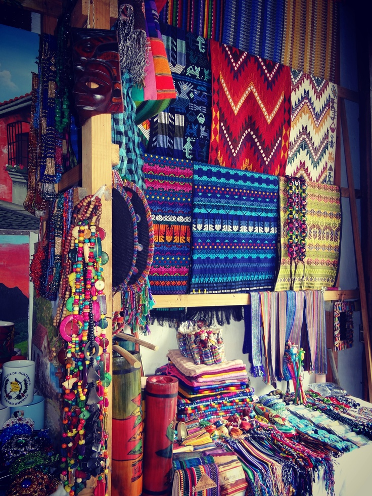 Guatemala City Love to shop in the markets
