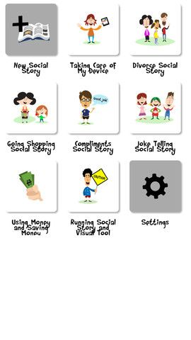 Social Stories Creator and Library for Preschool, Autism and Special Needs By Touch Autism